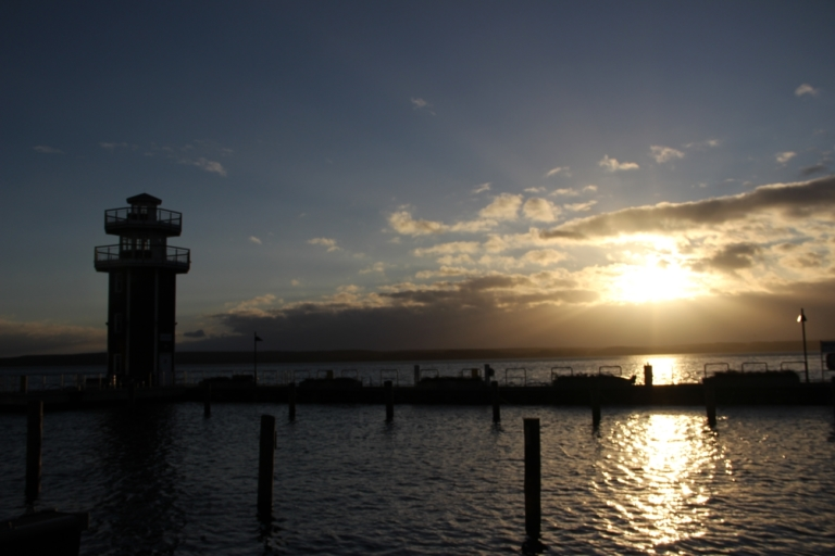 Es wird Tag am Plauer See