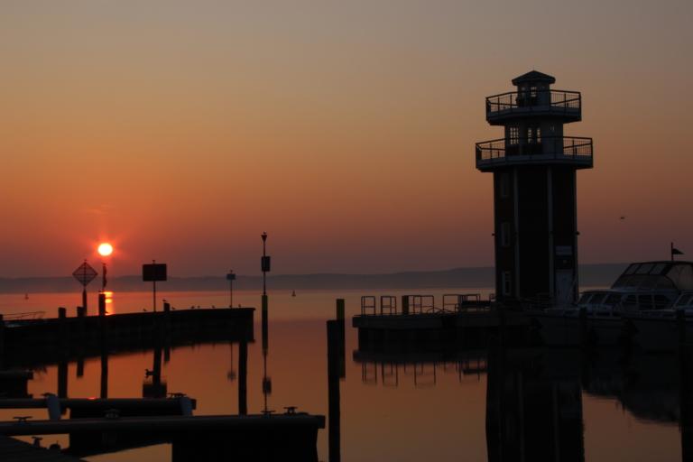 Sonnenaufgang am Plauer See